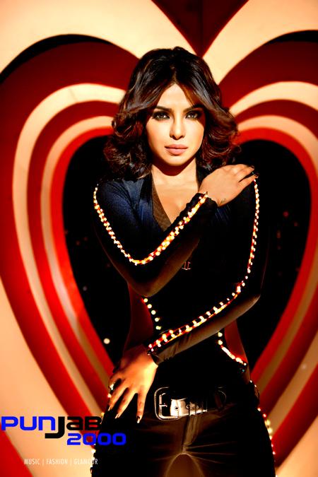Priyanka Chopra as 'Babli Badmaash' in 'Shootout At Wadala'.
