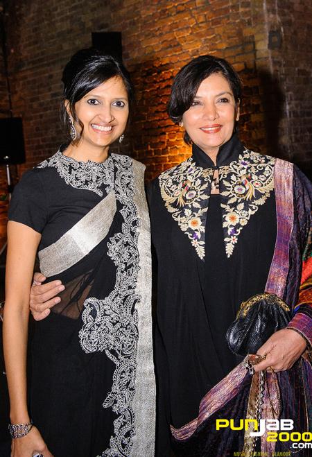Akshaya Patra Foundation UK's President Dipika Khaitan & Bollywood Legend Shabana Azmi