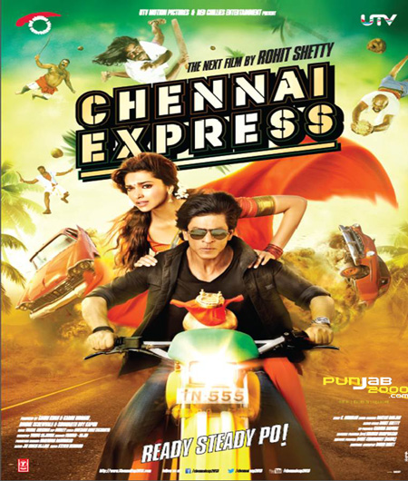 CHENNAI EXPRESS, released 8 August 2013