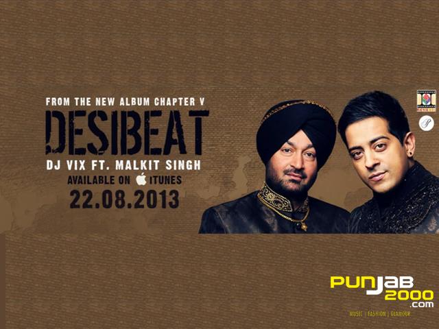 Desi Beat - Single by DJ Vix & Malkit Singh