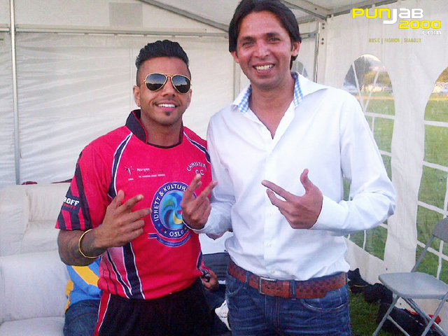 JuggyD with Mohammed Asif