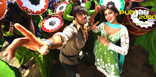 RANBIR KAPOOR GOES THE 'BHANGRA' WAY IN BESHARAM