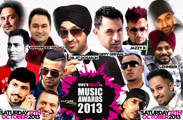 BRITASIA TV MUSIC AWARDS 2013