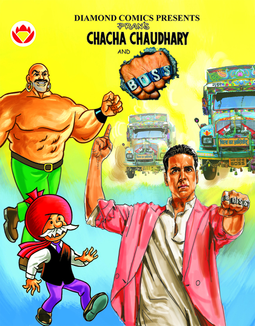 BOSS TIES-UP WITH CLASSIC COMIC BOOK CHACHA CHAUDHARY