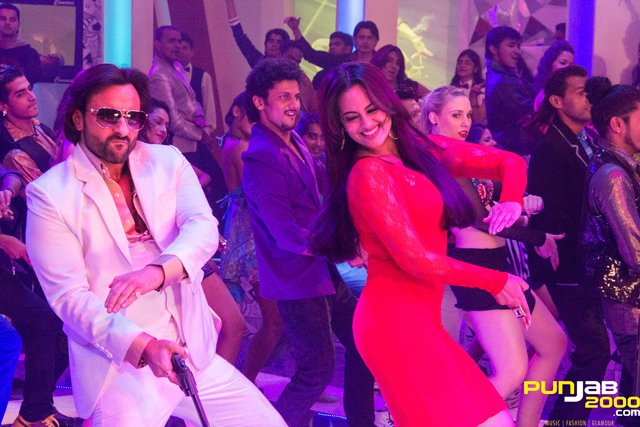 "Sonakshi Sinha 2000p Photos: RDB CHANGES THE GROOVE WITH BULLETT RAJA'S ""U.P"" STYLE"