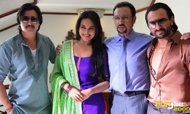 Bullett Raja - Saif Ali Khan Gulshan Grover and Sonakshi Sinha