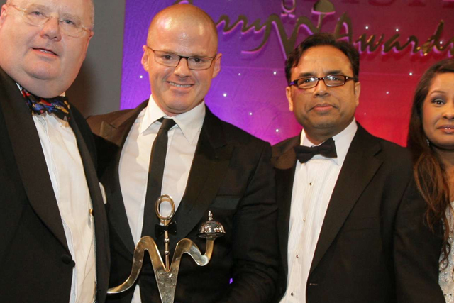 The Ninth annual British Curry Awards on Monday 25th November 2013.