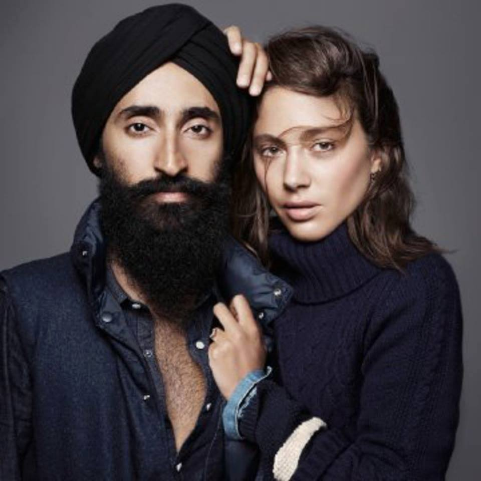 Waris Ahluwalia, the face on the poster, face on the brand, face everyone now knows and the face some are being racist about.