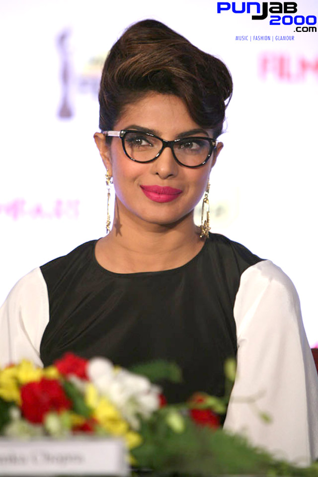 Priyanka Chopra At the Filmfare Awards Launch