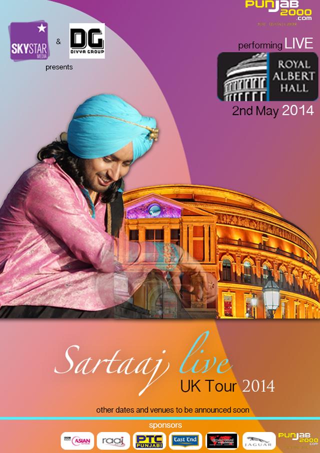 Satinder Sartaaj's UK tour 2014 - Royal Albert Halll,