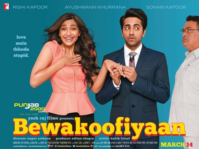 Yash Raj Films present BEWAKOOFIYAAN staring Rishi Kapoor, Ayushmann Khurrana & Sonam Kapoorr