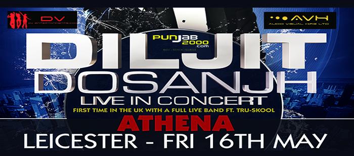 DILJIT DOSANJH LIVE UK TOUR 2014