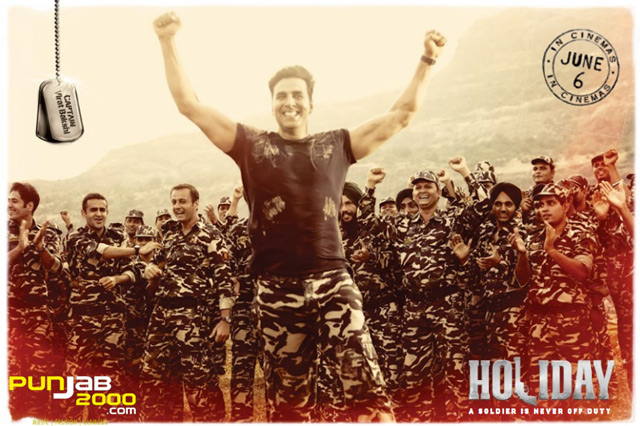 AKSHAY KUMAR TURNS ARMY INTEL OFFICER IN GRITTY ROMANTIC THRILLER 'HOLIDAY'