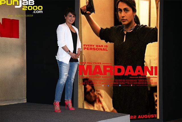 Mardaani-Trailer-Launch--Rani Mukherjee