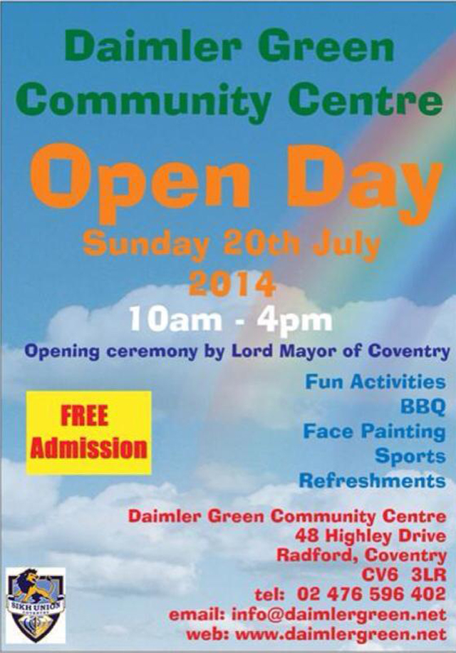 Daimler Green Open Day 20th July 2014