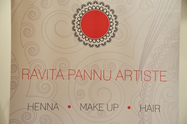 Ravita Pannu Artiste in henna, make up and hair*
