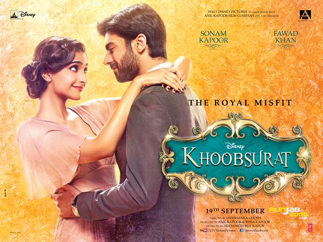Khoobsurat Poster ft. Sonam Kapoor & Fawad Khan