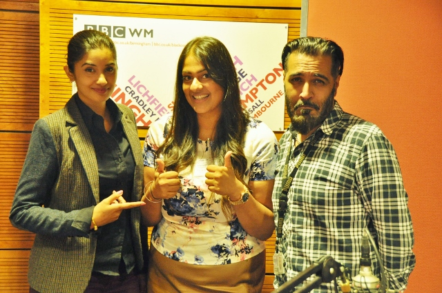 Miss Amaretto's World with Sunny & Shay at BBC Studios talking about As We Proceed