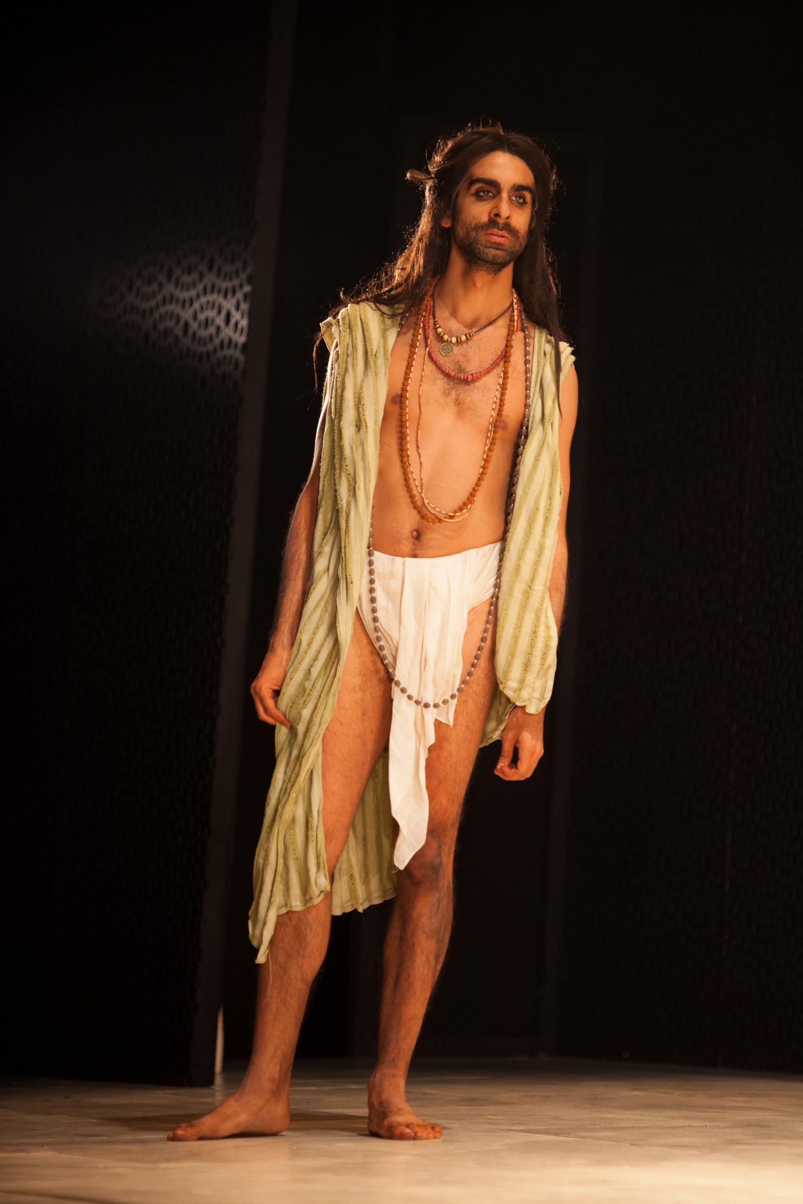 Scott Karim as Faqir by Ellie Kurttz