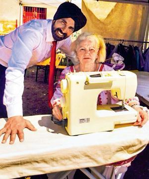 Akshay - 89 year-old grandmother