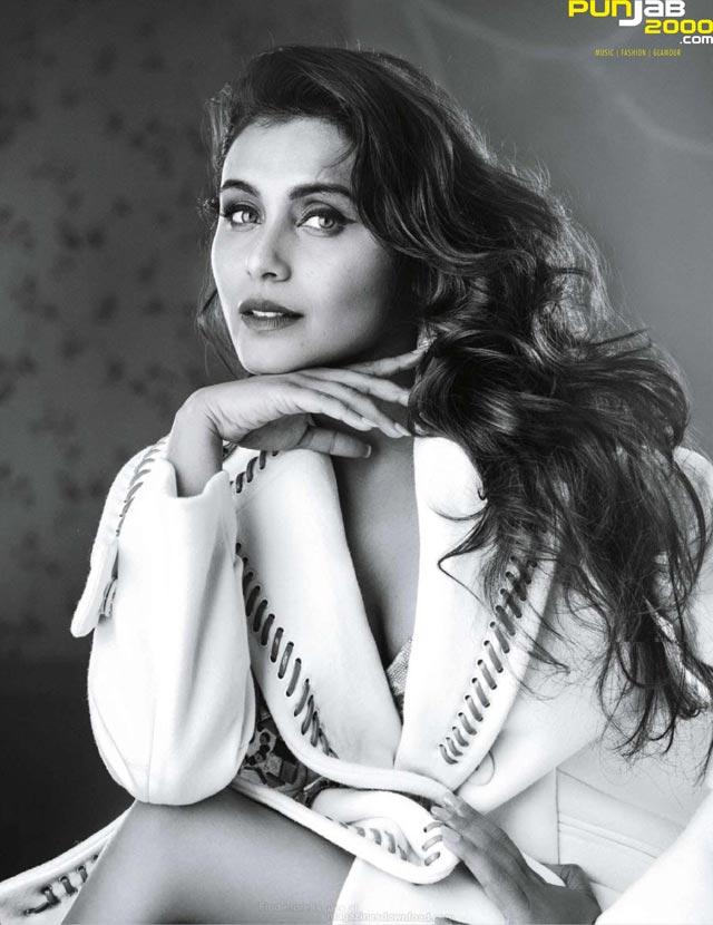 Rani Mukherjee for Vogue India Photograph credits: Signe Vilstrup and Vogue India Styling credits: Anaita Shroff Adajania and Priyanka Kapadia