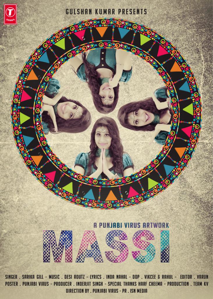 Sarika Gill - Massi 1st Poster