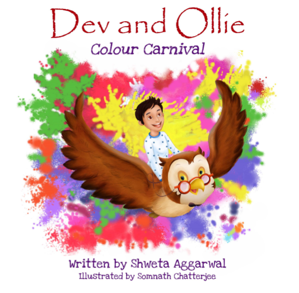 Dev and Ollie Colour Carnival by Shweta Aggarwal
