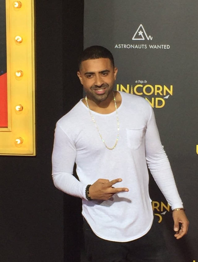 Jay Sean at the AT2UI Premiere on Wednesday 10th February.