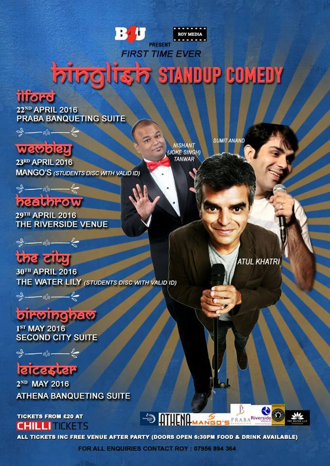 Hinglish Stand Up Comedy Show
