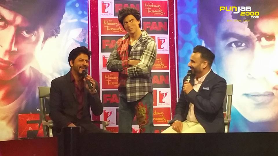 FAN Press Conference with Shah Rukh Khan