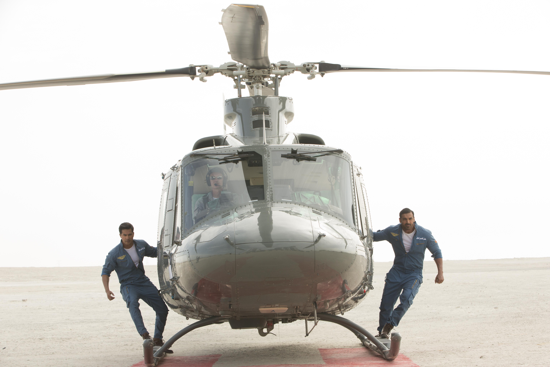 John Abraham & Varun Dhawan in Dishoom