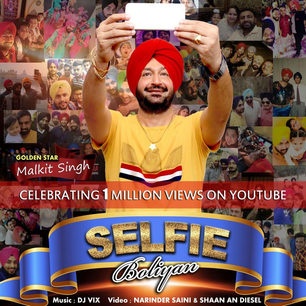 Malkit Singh & DJ Vix Selfie Boliyan