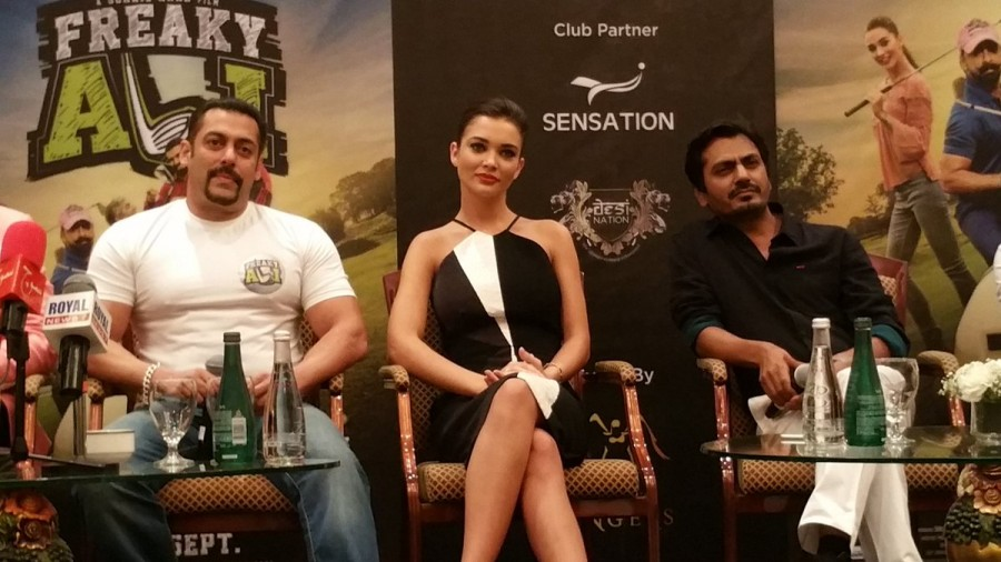 Salman Khan, Amy Jackson & Nawazudin Siddiqui