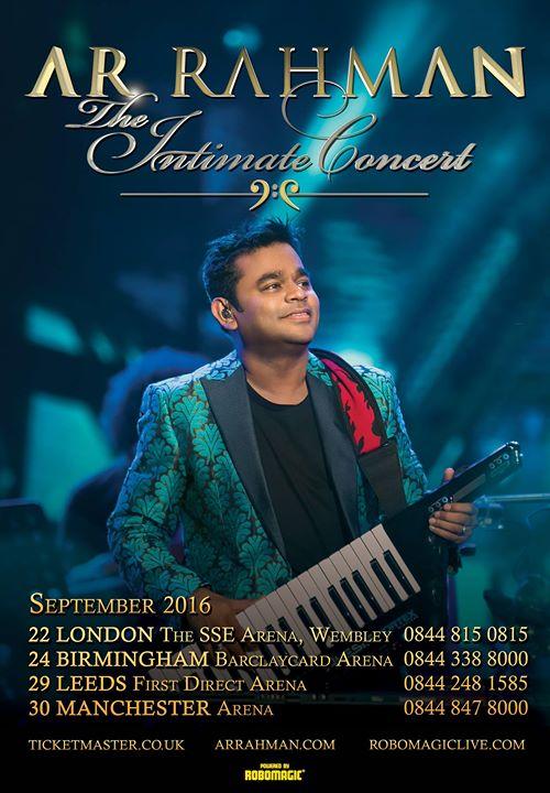A.R. Rahman Intimate UK Tour