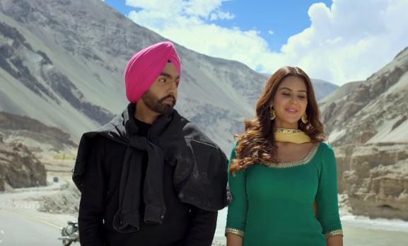 Ammy Virk & Sonam Bajwa in Nikka Zaildaar