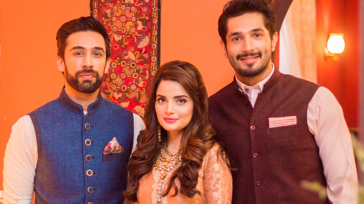 Ali Rehman Khan, Armeena Rana Khan & Bilal Ashraf