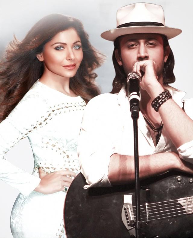 Kanika Kapoor & Atif Aslam