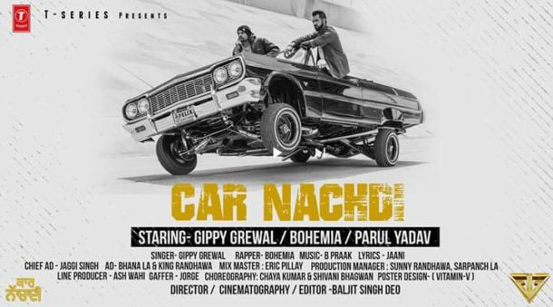 Presenting Gippy Grewal 'Car Nachdi' Featuring Bohemia