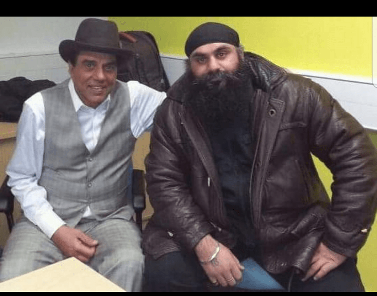 Randhir and The Legend Dharmender