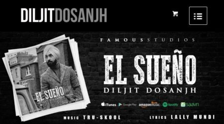 Diljit Dosanjh Official Merchandise Website