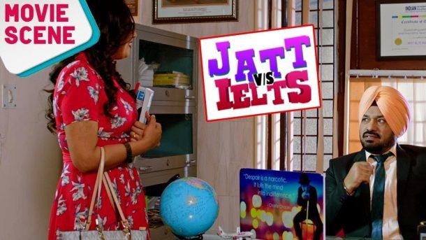 Gurpreet Ghuggi | Comedy Movie Scene | JATT vs IELTS | Latest