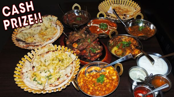 Randy Santel Food Challenge
