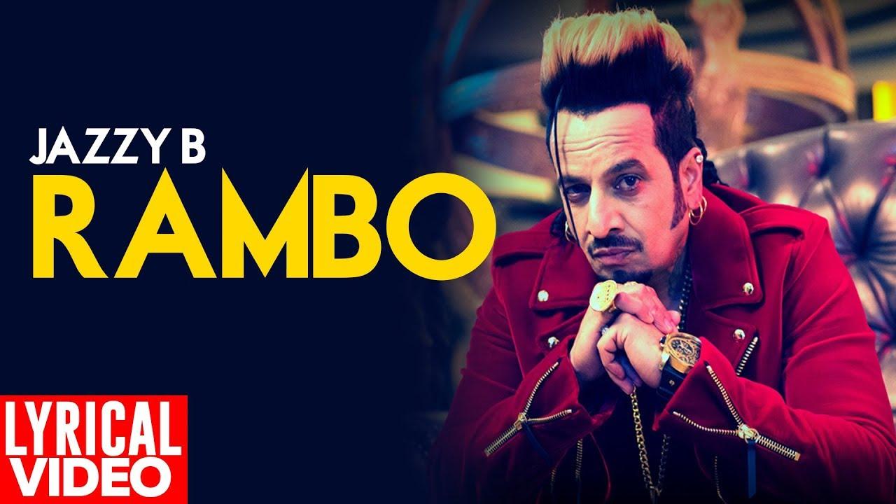 Rambo (Lyrical Video) | Jazzy B| New Punjabi Songs 2019 | Planet