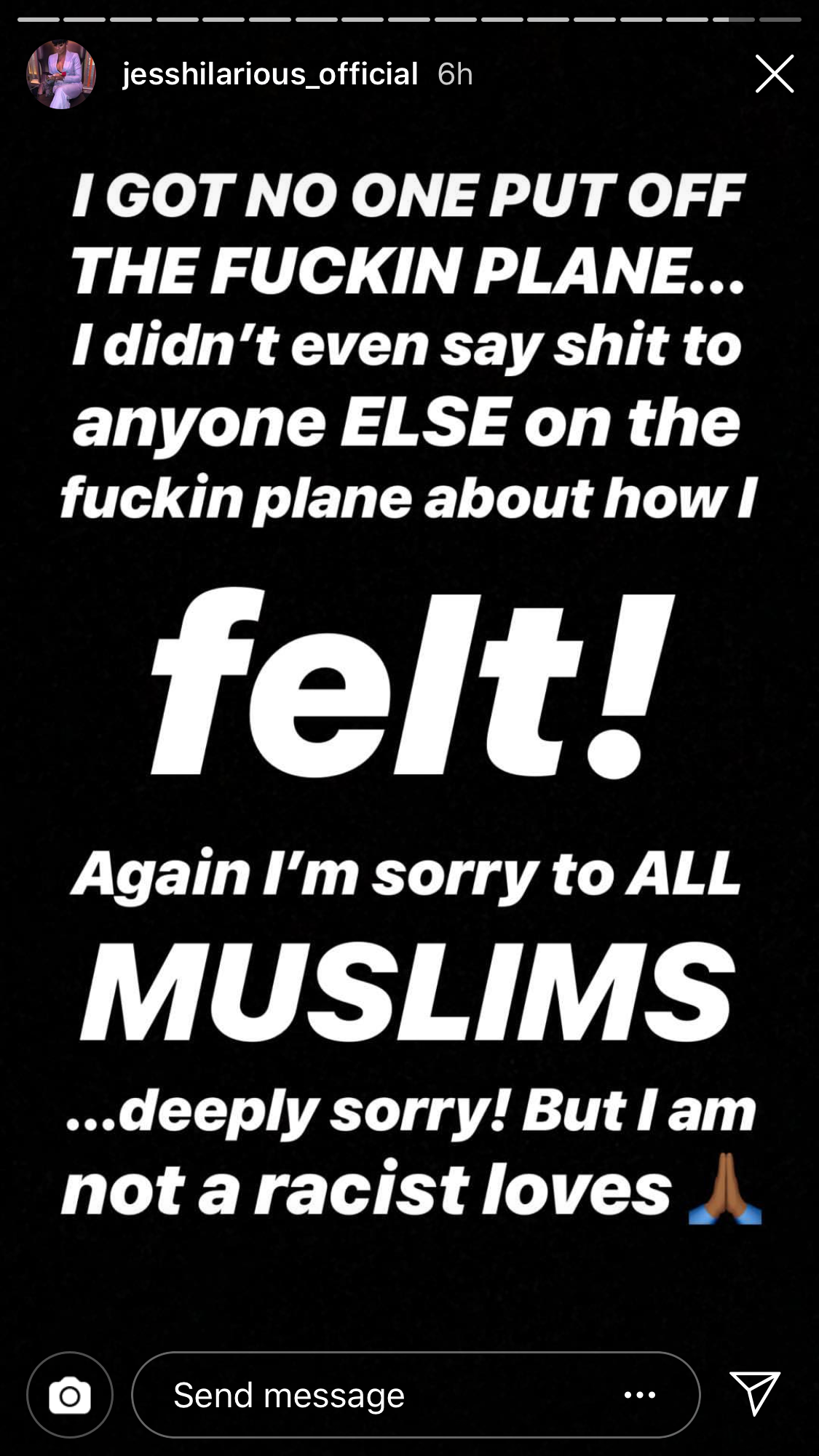 #JessHilarious response to her #xenophobic comments against #Sikhs