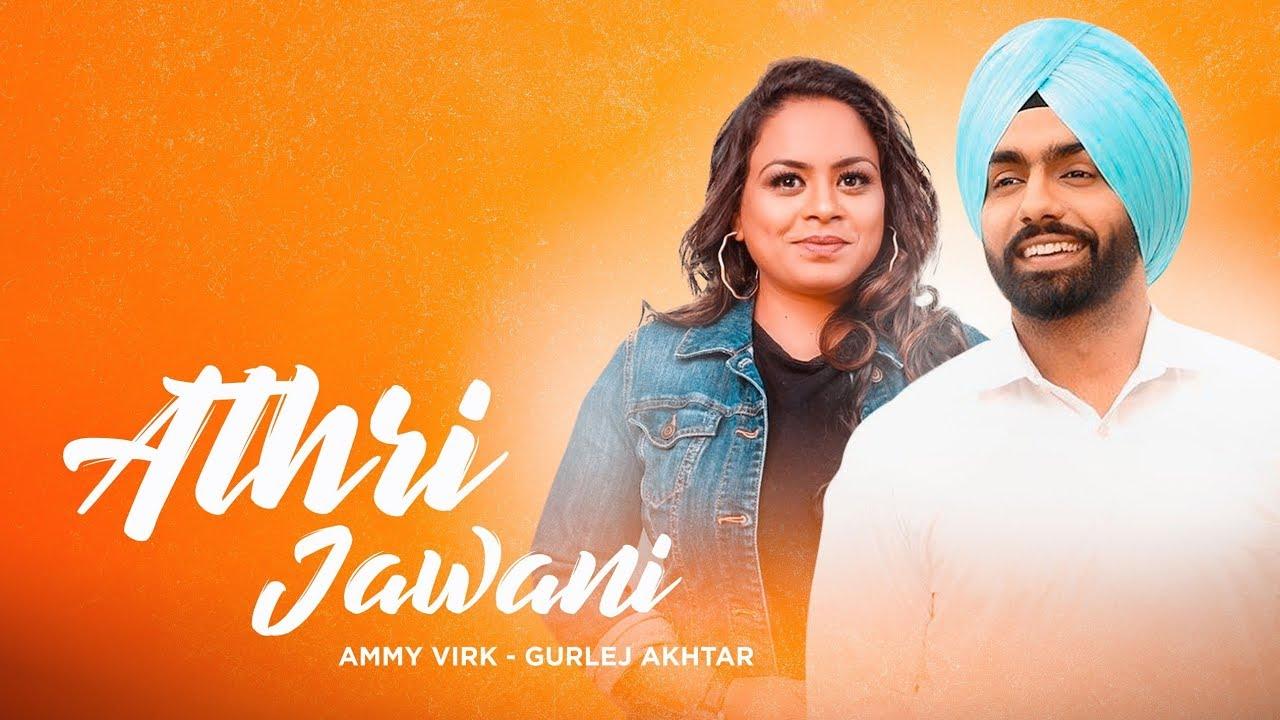 Athri Jawani (CRBT Codes) | Ammy Virk | Gurlez Akhtar | Gurnam
