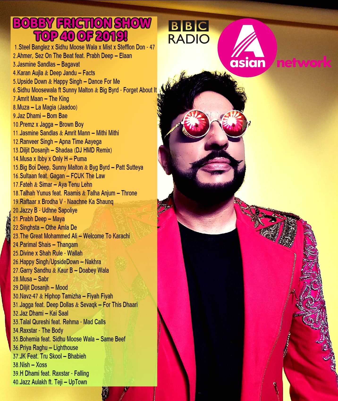Bobby Friction Top 40 2019